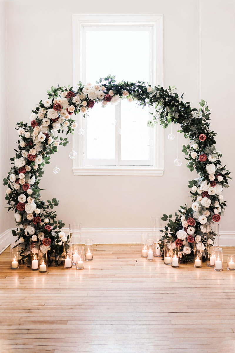 Circular Arch  Mlle Artsy - Wedding Decor Rental