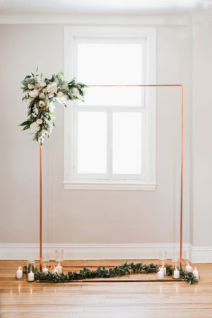 Copper Arch - Decor Rental - Mlle Artsy