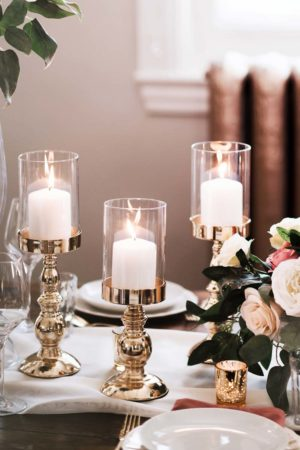 Pillar candle holder - Decor Rental - Mlle Artsy