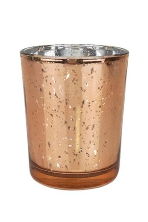 Rose gold votive - Decor Rental - Mlle Artsy