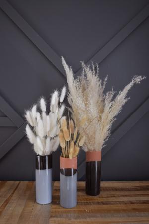 Black Pampas Grass Vases