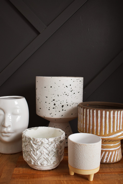 Planters and accessories - Mlle Artsy